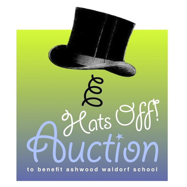 auction logo top hat