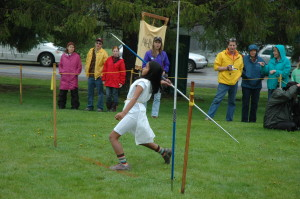 Mia positioning for the javelin Olympiad 2011.jpg