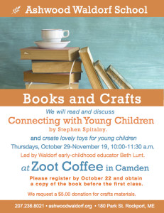 Books and Crafts at Zoot Coffee!
