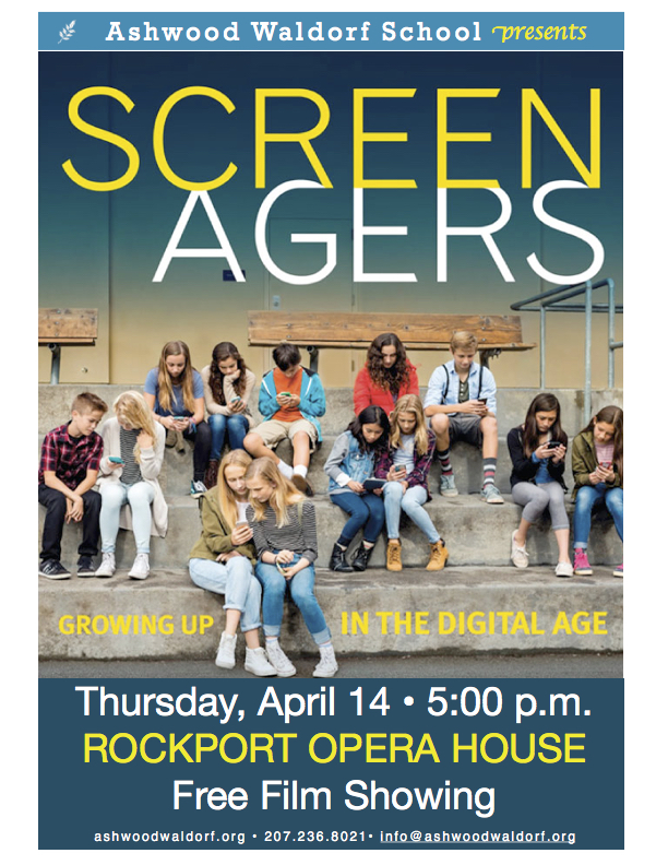 """Screenagers"" Film Premiere! @ Rockport Opera House"