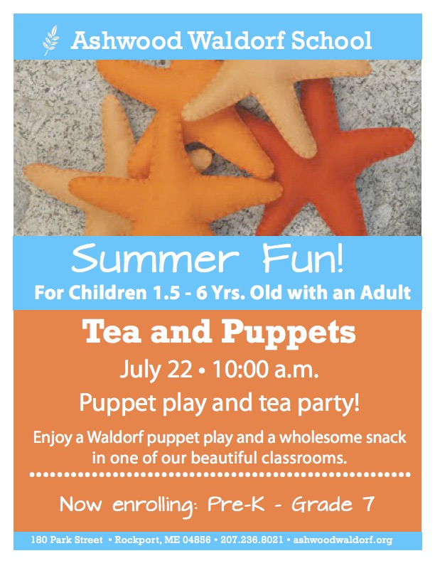 Tea and Puppets!