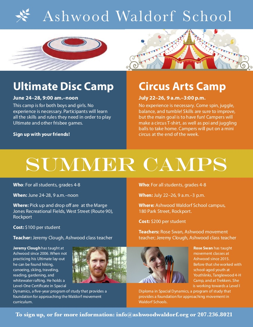 Circus Arts Summer Camp