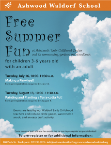 Summer Craft for Children 3-6 Years Old Along with a Parent