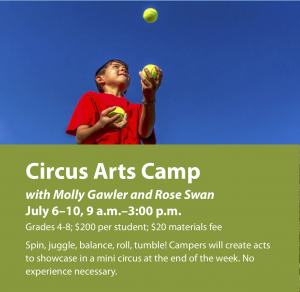 Circus Arts Camp @ Ashwood Waldorf School
